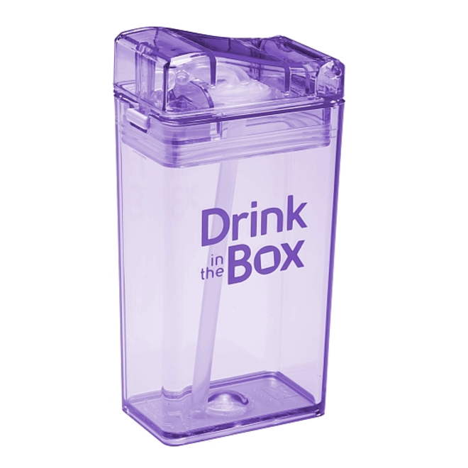 Drink in the Box  8oz -Purple