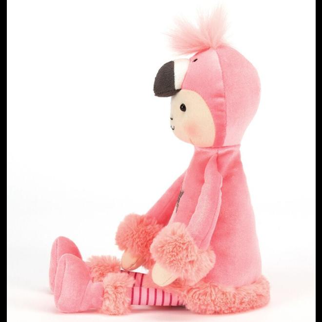 Jellycat Perkies Flamingo Flapper Doll