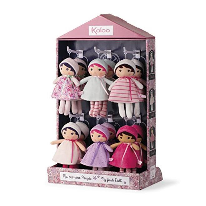 Kaloo Tendresse Doll - Assortment Of 12 Small Dolls