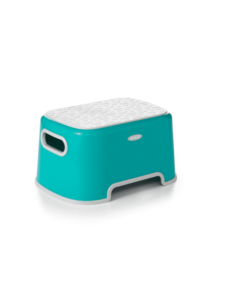 Fantastic Oxo Tot Oxo Tot Step Stool Teal Alphanode Cool Chair Designs And Ideas Alphanodeonline