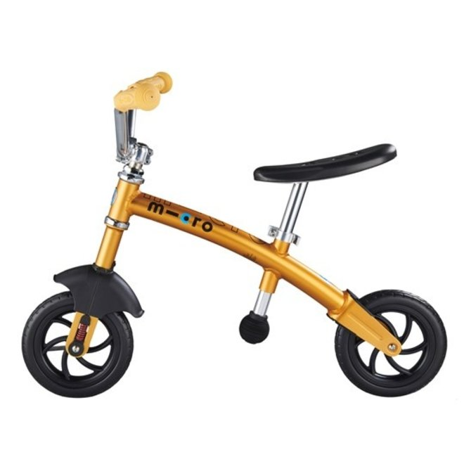 MICRO G-Bike Chopper Deluxe Balance Bike Yellow
