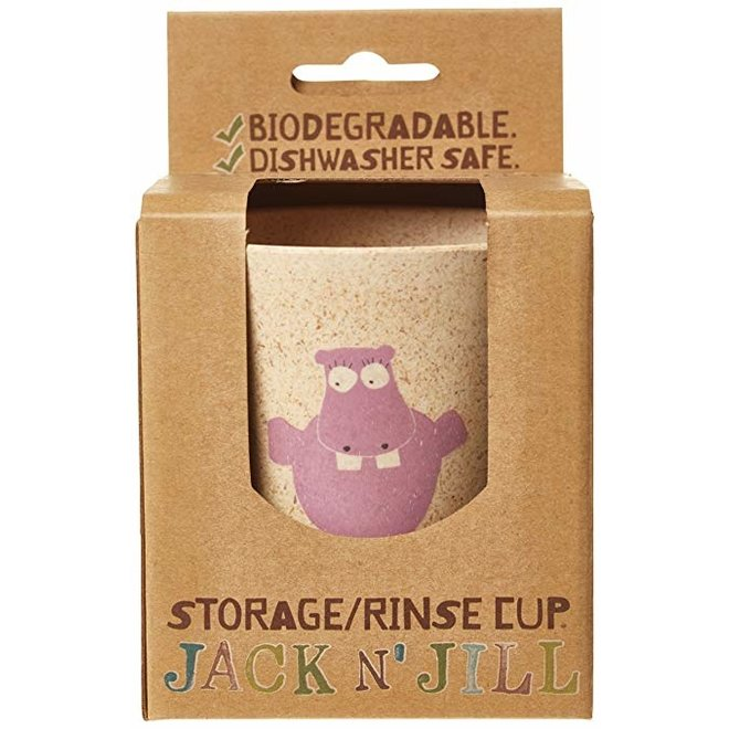 Jack N' Jill Rinse Cup Hippo