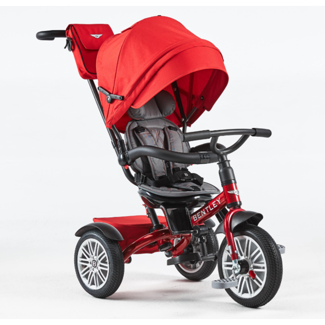 Bentley 6-in-1 Baby Stroller / Kids Trike - Dragon Red