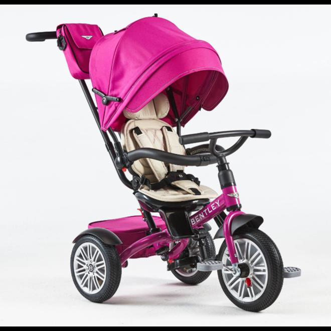 Bentley 6-in-1 Baby Stroller / Kids Trike - Fuchsia Pink