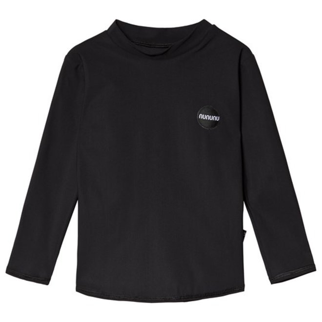 Nununu Back Off Long Sleeved Rashguard-Black