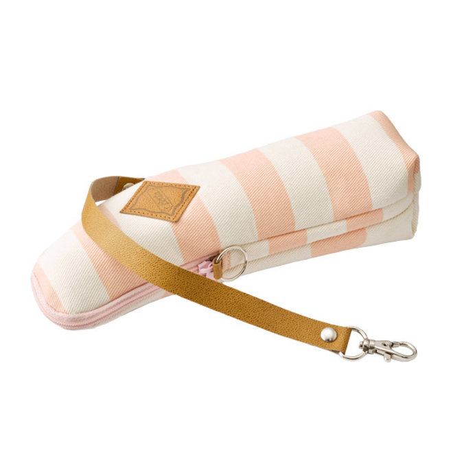 Betta Warmth Pouch (Stripes & Dots Baby Pink)