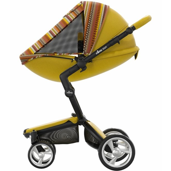 MIMA XARI LIMITED TRAVEL STROLLER-YELLOW SETS