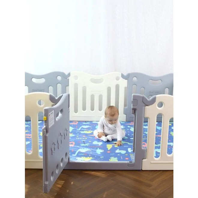 Baby Care FunZone Playpen - Melange Grey
