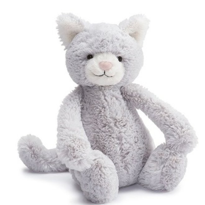 Jellycat Bashful Kitty Grey