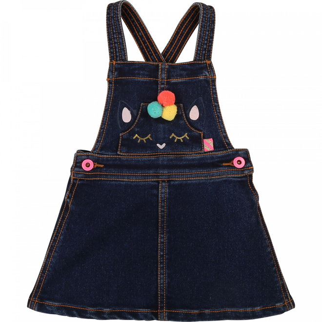 Fall 1 Dress Denim Indigo Blue