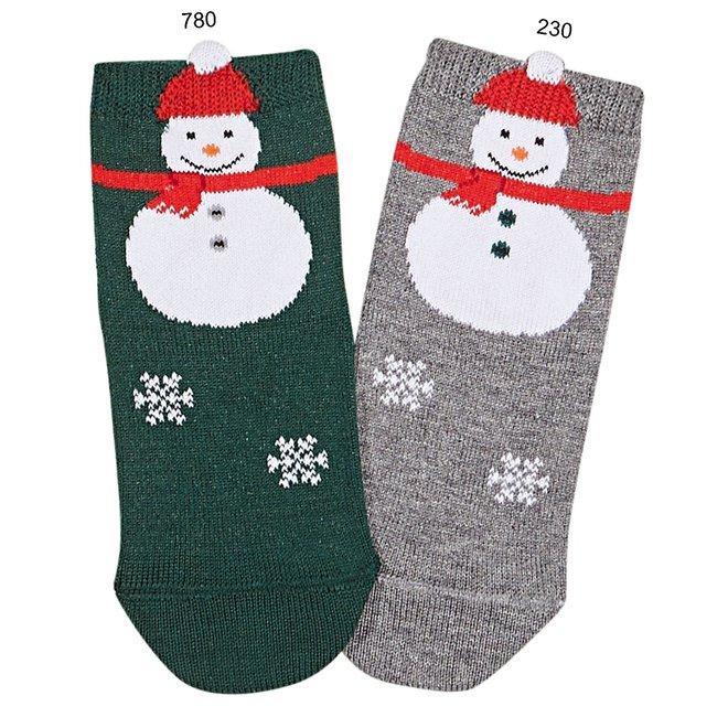 Condor 3D Snowman Short Socks Clar
