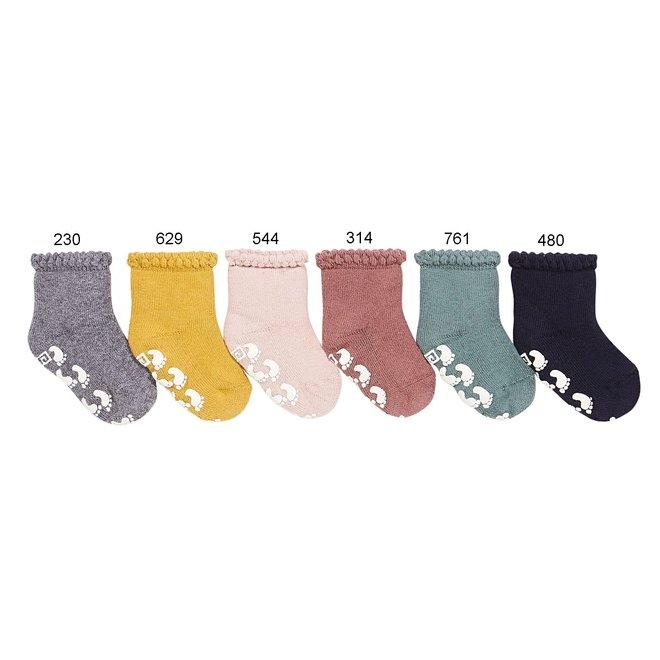 Condor Baby Non-Slip Socks With Patterned Clar