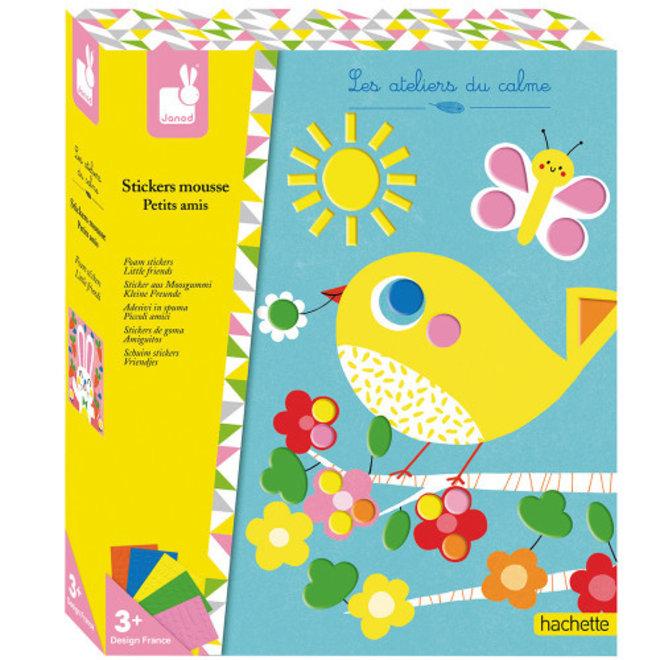 Janod Hachette - Foam Stickers
