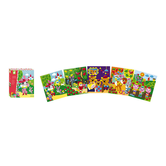 Hachette - Felt Stickers