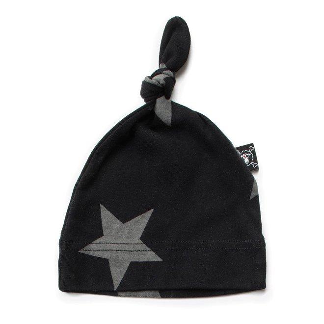 Nununu Star Hat Black-One Size