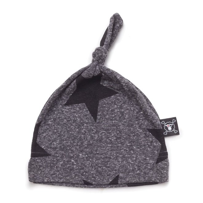 Nununu Star Hat Heather Grey-One Size
