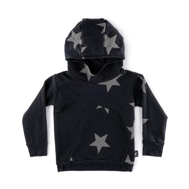 Nununu Star Hoodie Black