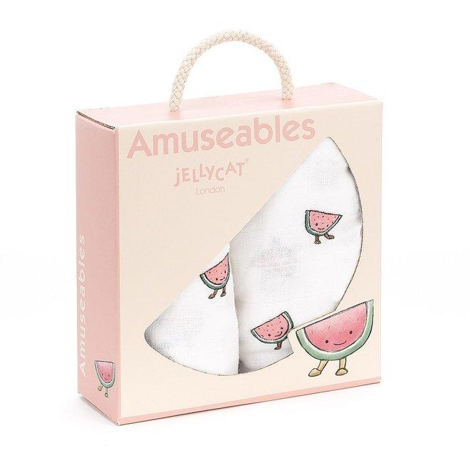 Amuseable Watermelon Pair Of Muslin