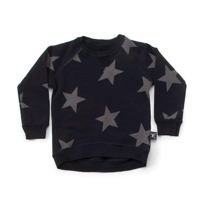 Nununu Star Sweatshirt-Black