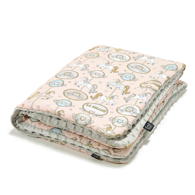 MEDIUM BLANKET  DREAM LUNAPARK - LIGHT GREY
