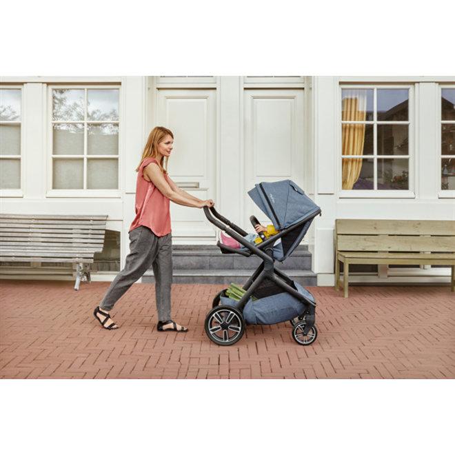 NUNA DEMI Grow Stroller ASPEN(Grey)