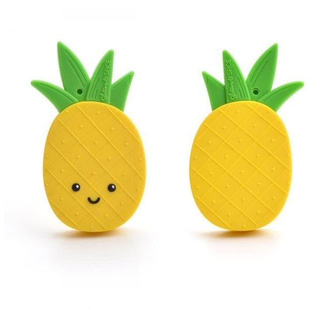 Glitter & Spice Pineapple Teether
