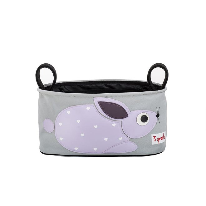 3 Sprouts Rabbit Stroller Organizer - Purple