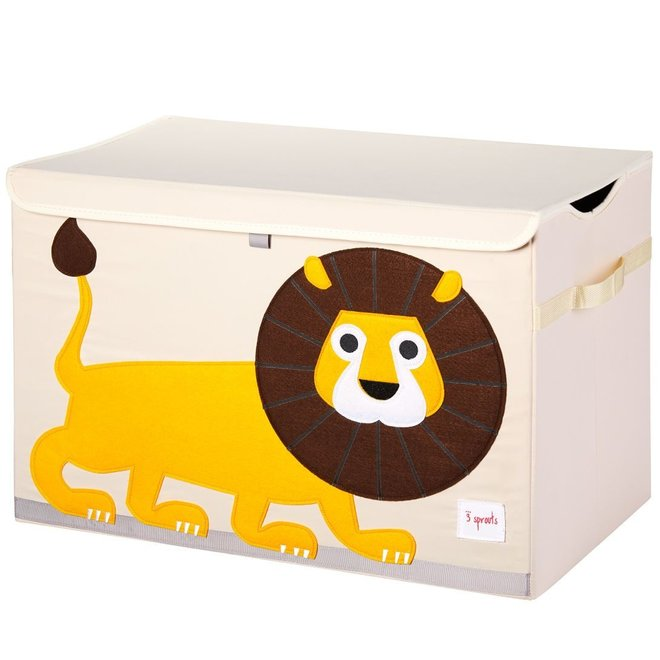 3 Sprouts Lion Toy Chest - Lion