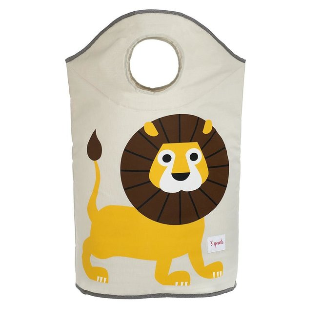 3 Sprouts Lion Laundry Hamper - Yellow