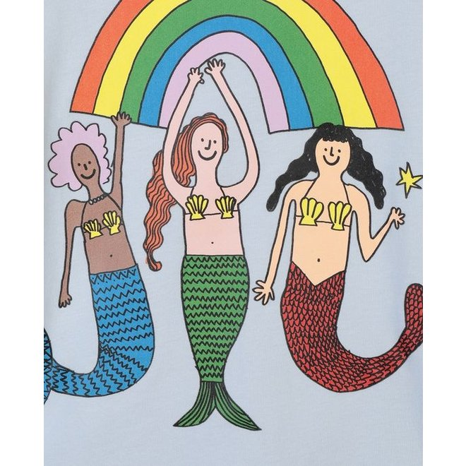 Mermaids&Rainbow Short sleeve Tee