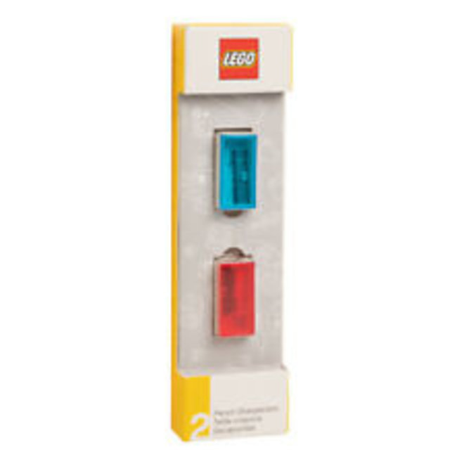 Lego Pencil Sharpener 2pk