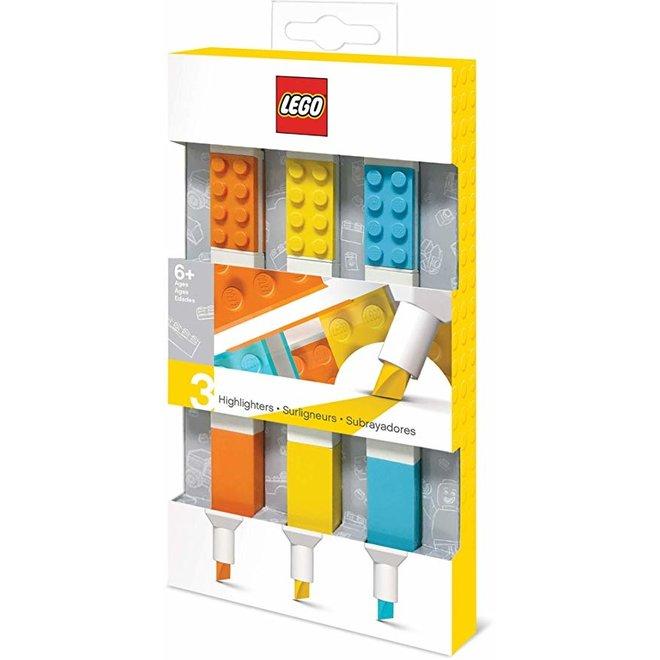 Lego Highlighter 3pcs