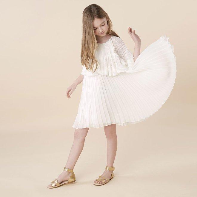 Chloe Santorin D2 Enf Dress Offwhite