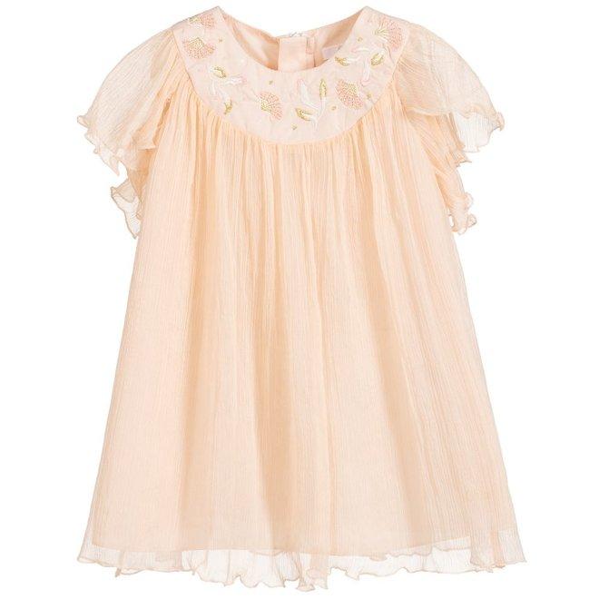Chloe Santorin D2 Lay Dress Pale Pink