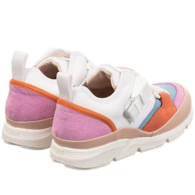 Chloe Formenterad2Enf Sneakers Fuschia