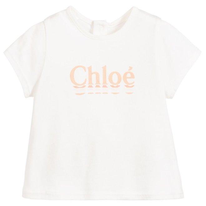 Chloe Santorin D1 Lay T-Shirt Offwhite