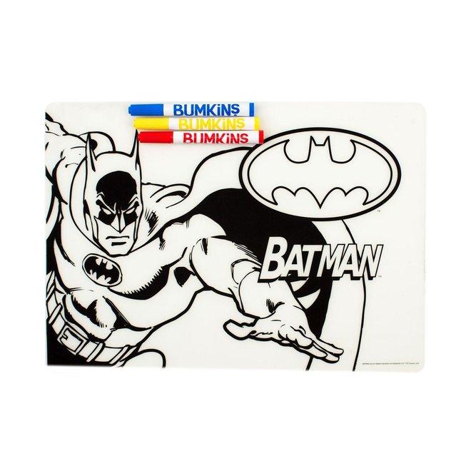 d - Bumkins DC Comics - Silicone Colouring Mat - Batman