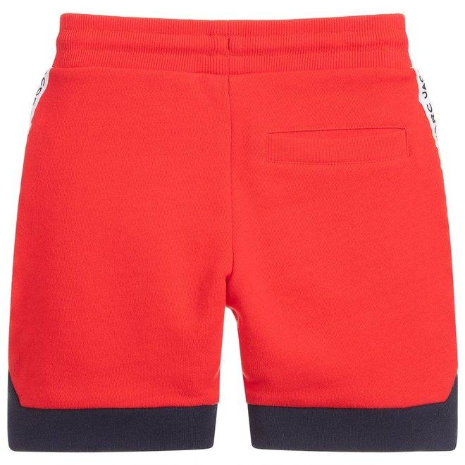 Basic Line D2 Bermuda Shorts+Belt Bright Red