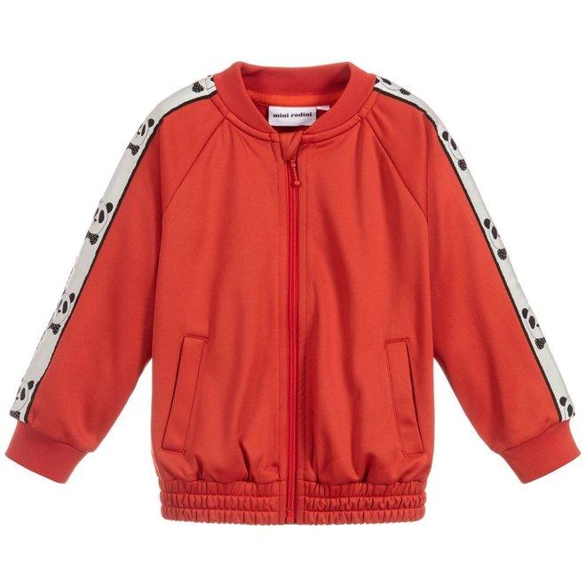 Mini Rodini Panda Wct Jacket Red