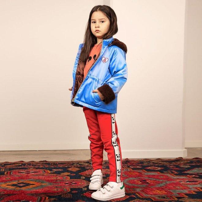 Mini Rodini Panda Wct Trousers Red