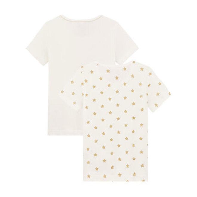 Girls' T-shirt Gold Star 2-Piece Set