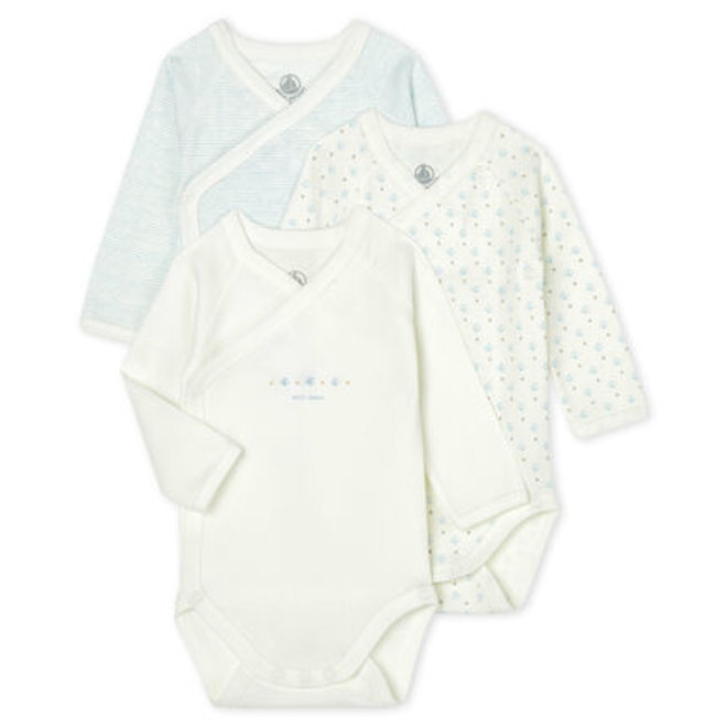 Babies' Long-Sleeved Bodysuit Boat AND Star 3 Piece Set