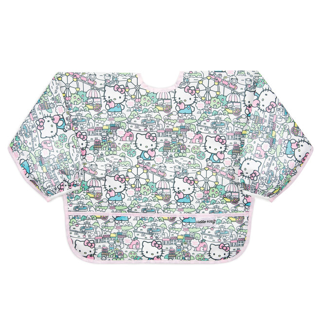 Bumkins - Hello Kitty - Sleeved Bib - Hello Kitty Carnival