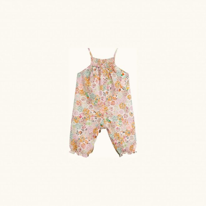 LILISY LIBERTY PINK FLOWERS OVERALLS