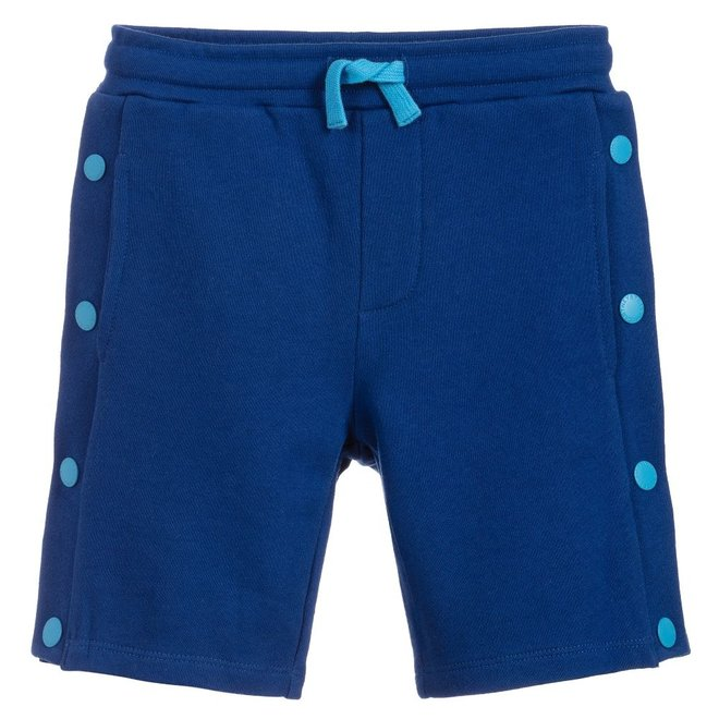 KID BOY SWEATSHORTS WITH SIDE POPPERS