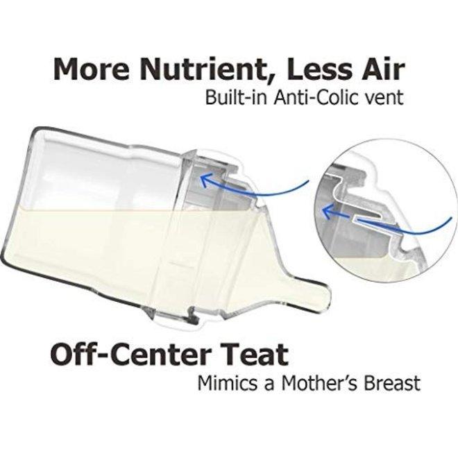 Hegen PCTO 240ml/8oz Feeding Bottle PPSU (2-pack)