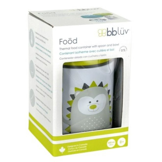 Foöd - Thermal Food Container With Spoon (Lime)