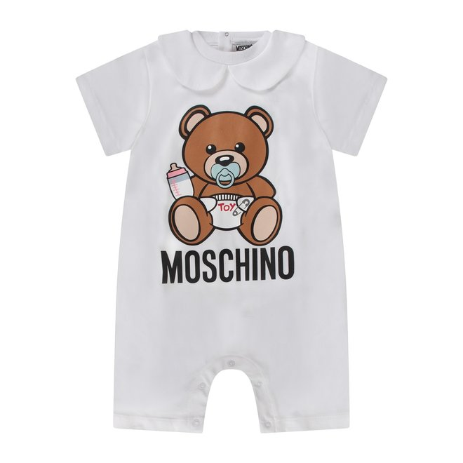 BABY TEDDY BEAR SHORT ONESIE WITH GIFT BOX
