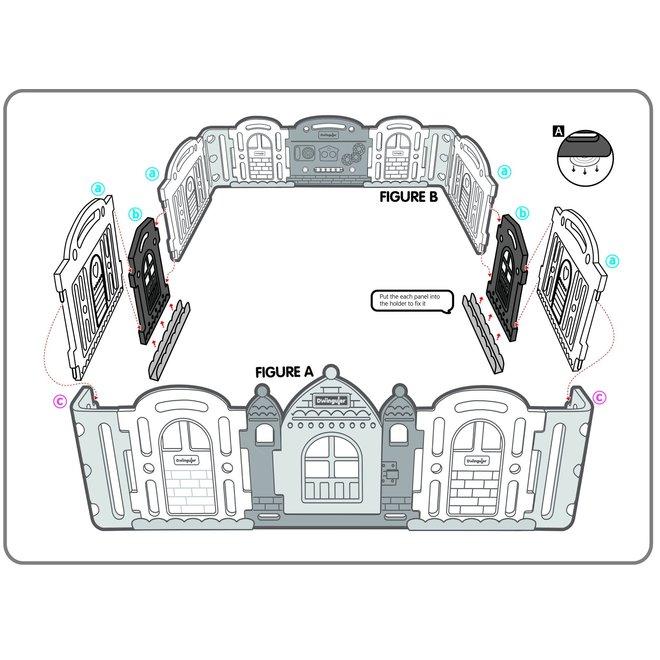 Dwinguler Castle Extension Kit
