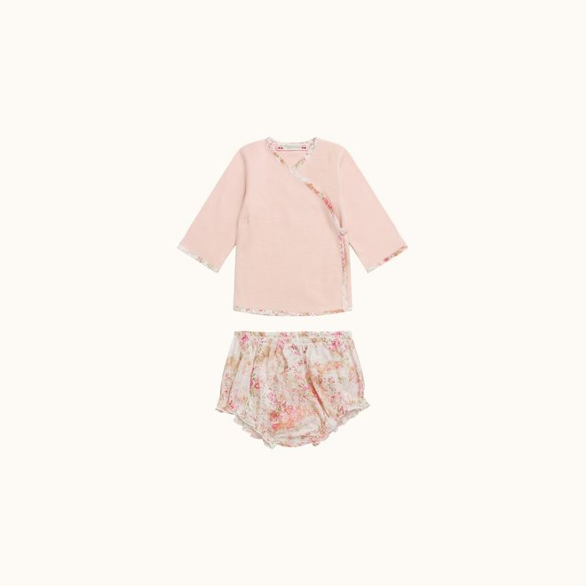 BABIES' VEST AND BLOOMERS SET